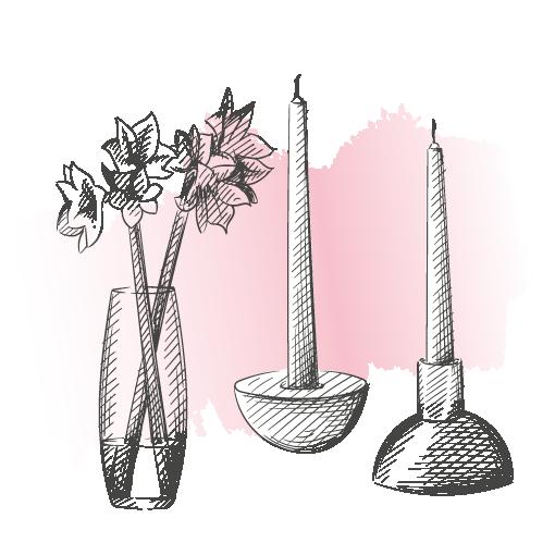 Besondere Dekoration für Dein schönes Zuhause oder als Geschenk verpacken lassen    Schmuckstück – Stefanie Hof